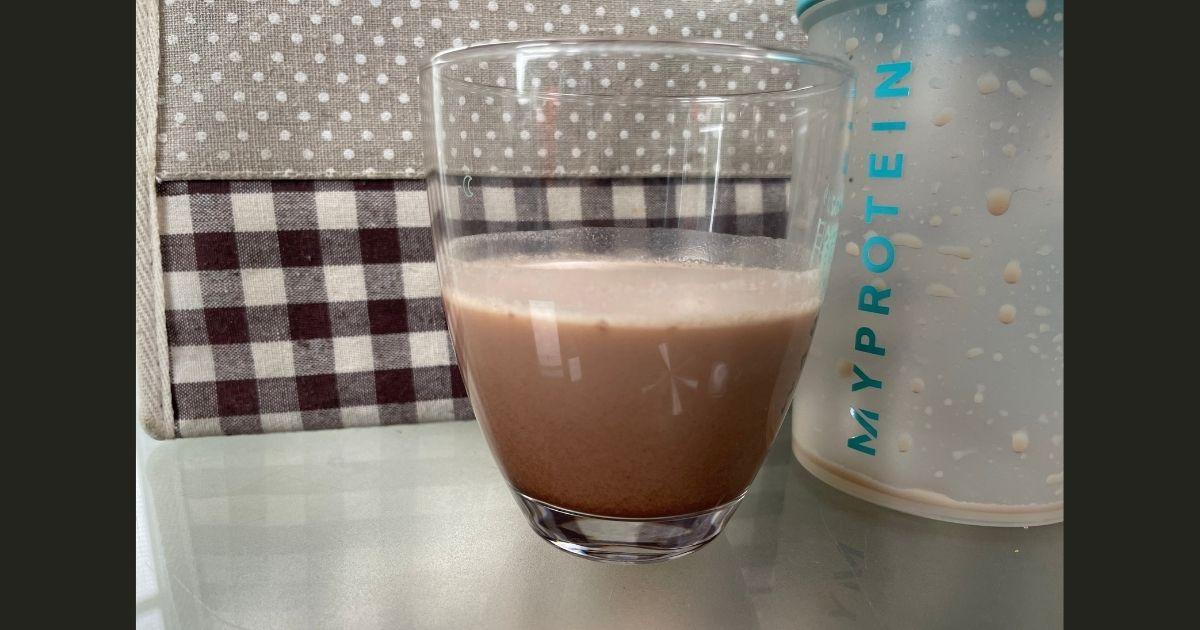 マイプロテインのチョコレートピーナッツ味の画像